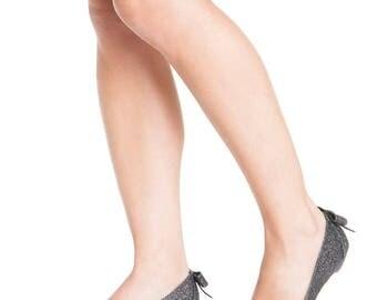 Dark silver sparkly peep toe sandals / non leather vegan sandals / low heel open toe /comfortable bridesmaids shoes / unique for evening