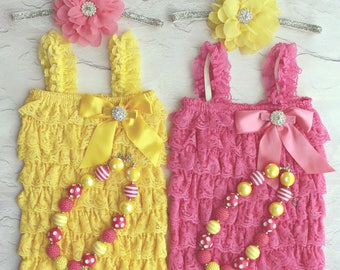 Twin Girls 1st Birthday Outfit, Babies 1st Birthday, Twin Girls Outfits, Cake Smash Outfit, Twin Birthday Outfits, 1st Birthday photo props