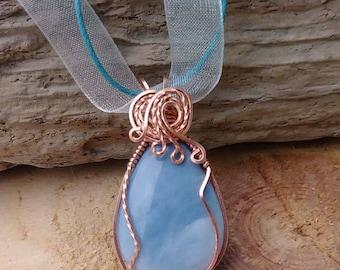 Blue Opal in Copper
