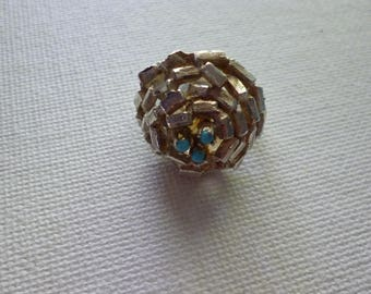Sterling Silver Robins Nest Ring