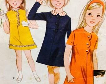 Butterick 3780 1960 Girls Sewing