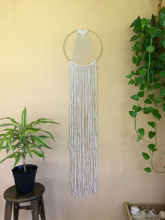 Sunburst Macrame Dream Catcher (Large)
