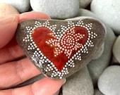 insight / painted rocks/ painted stones/ heart rocks / paperweights/ desk art / tiny art/ boho art/ hippie art/ dot art/ anniversary/ rocks