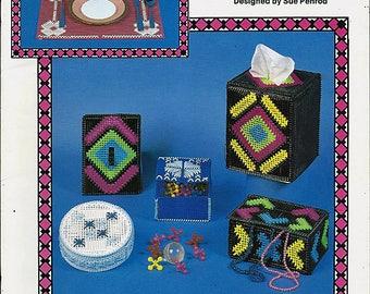 Lace It in Plastic Canvas Pattern Book Kappie Originals Book 269