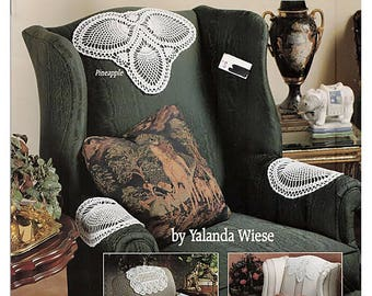 Chair Sets in Thread Crochet for the Home Pattern Book American School of Needlework 1153