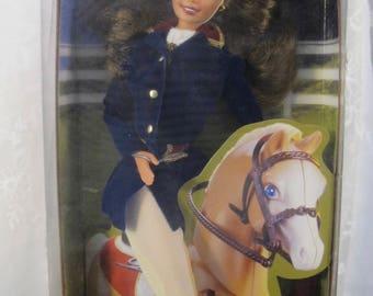 Vintage 90's Mattel Horse Riding Barbie #19268