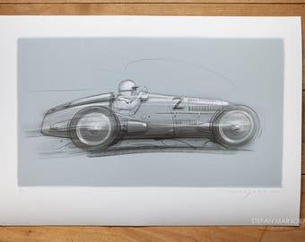 Mercedes W125 Print