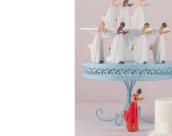 Bride Wedding Cake Topper True Romance