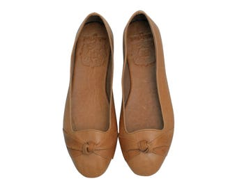 PANAMA. Leather ballet flats / women shoes / leather flats / women flats / womens shoes. Sizes 35-43. Available in different leather colors
