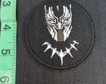 Marvel Black Panther Iron/Sew on Patch