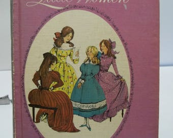 Vintage 1963 Companion Library Little Women and Little Men 2 Books in 1