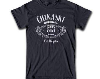 Henry Chinaski T Shirt - Graphic Tees For Men, Women & Children - Chinaski, Barfly, Factotum, Henry Chinaski, Novel, Poet, Writer, Alcohol