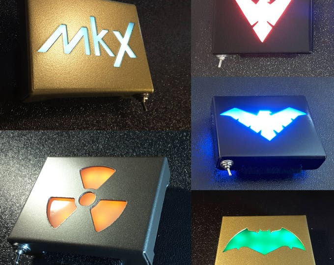 Custom LED Belt Buckle