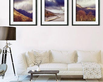 Living Room Art, Set Of 3 Prints, Living Room Wall Art, Set Of