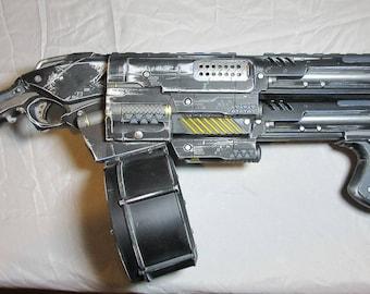 Tri barrel shotgun Cosplay  gun prop Borderlands,  destiny, gears of war, aliens, fallout, resident evil, call of duty