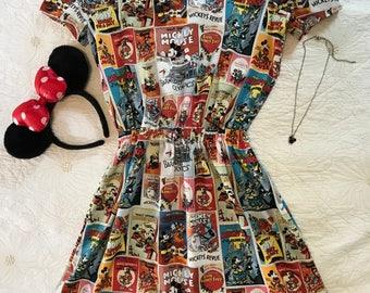 Vintage Walt Disney & Mickey Mouse Dress