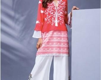 Sanober Azfar, pret, salwar kameez, iron cotton shirt, pakistani fashion, women clothing