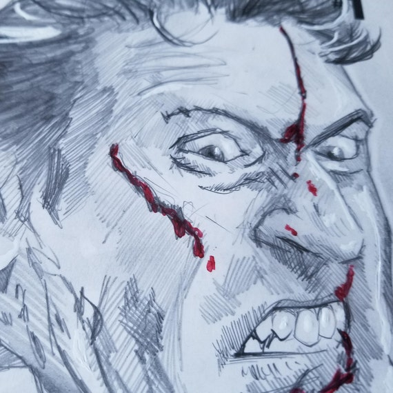 Army of Darkness: Ash Gets Hitched #1 Blank Sketch Cover