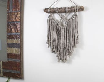 Macrame Wall Hanging/Weaving/Tapestry/Wall Hanging/Macrame Decor/Wall Art/Wall Decor/Brown