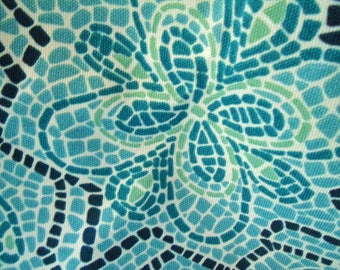 "RARE ""La Chonchuta"" Upscale Indoor/Outdoor Fabric Suburban Home Duralee OOP Heavy Duty Fabrics 2 yd. + 22"" x 55"" wide Interior Design Sewing"