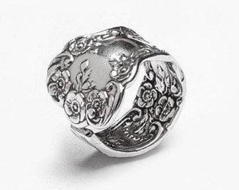 """Spoon Ring: """"Lady Helen"""" by Silver Spoon Jewelry"""