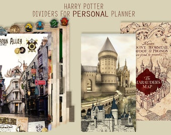 Harry POTTER _  Printable dividers Personal size