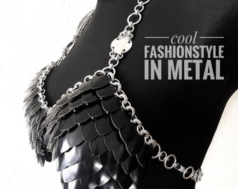 "Dress ""VALKYRIE II"" – cool FASHIONSTYLE in metal"