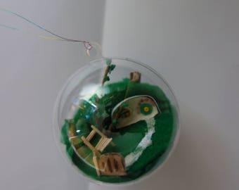 LOTR Shire Hobbit House Bauble/Ornament