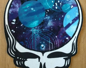 Vortex space iron on steal your face iron on patch