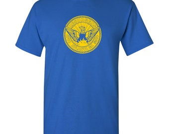 Atlanta City Flag T Shirt - Royal