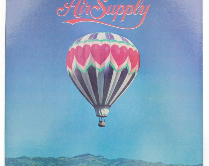 Vintage 80s Air Supply The One That You Love Soft Rock Album Record Vinyl LP