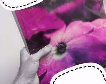 10 x 10 Pink Flower Single Photo Print