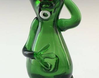Alien Glass Tobacco Pipe - H*086