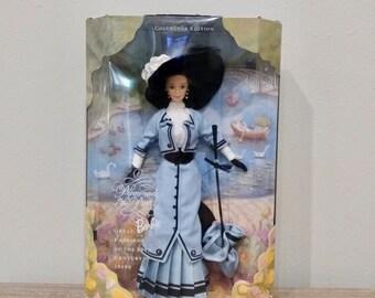 1997 Promenade in the Park Barbie, 1910s Fashion Barbie, Mattel, 18630, New in Box