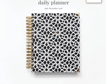 2018 daily planner six month planner 2018 diary daily agenda appointment