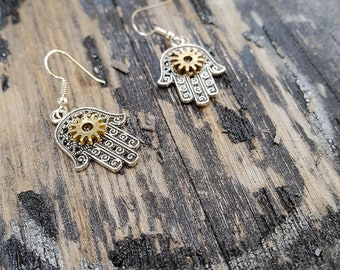 Watch Part Steampunk Fashion-- Earrings --Jewelry Clock Gears Gift For Her Steampunk Clothing Victorian Western Outfit