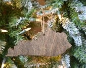 Kentucky State cut out wood ornament Christmas Home Decor