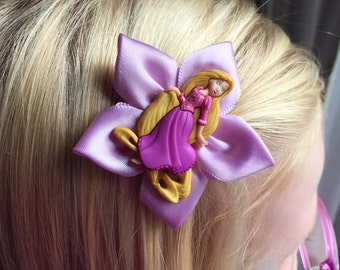 Disney's Rapunzel Hair Bow/Hair Clip, Girls, Kanzashi