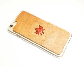 Leather Galaxy S9 Plus Case | Maple Leaf