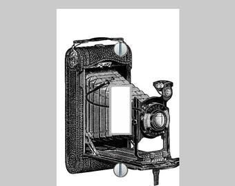 Light Switch Plate Cover -Retro Camera Pattern -  Living Room Home Decor Kitchen