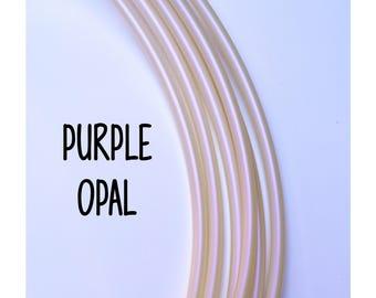 NEW Purple Opal 11/16 Goldilocks Color Morph Polypro ~ Purple Opalescent Colored 11/16 Goldilocks, Color-Shift Polypro Hoops