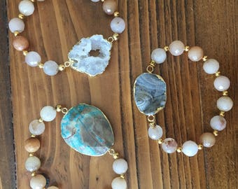 Jade Beaded Bracelets