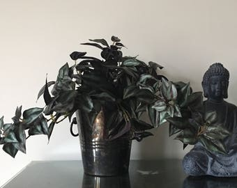 Wandering Jew plant artificial large bunch lifelike cascading  Greenery and foliage supplies Weddings  Floral Arrangements home decor