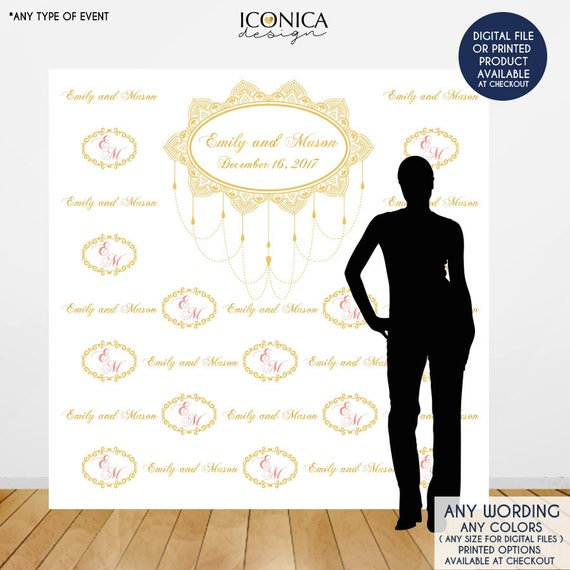 Wedding Backdrop Photo Booth Moroccan Party Indian Any