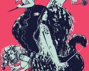 MERMAID COVEN | Art Print