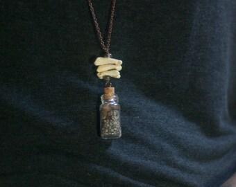 Lake Specimen Pendant Necklace