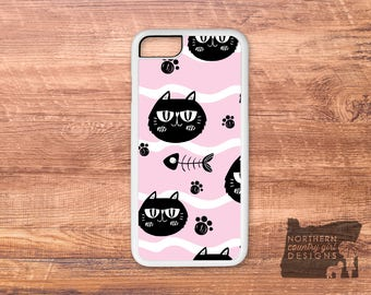 cat phone case / iPhone 7 case / cat iPhone case / iPhone 6s plus / iPhone 6 case / iPhone 6s plus case / iPhone se / cats / iPhone case