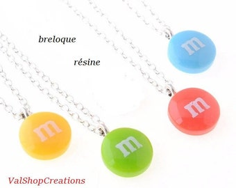 Resin necklace pendant sweet