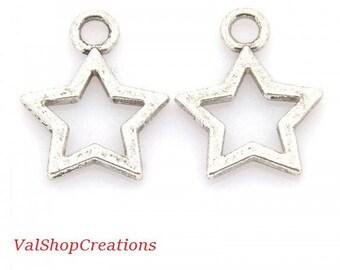 Star Silver 3 X 12mm Tibetan
