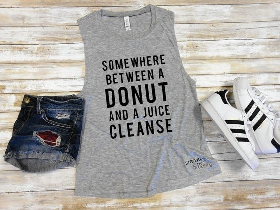 Somewhere Between a Donut and a Juice Cleanse